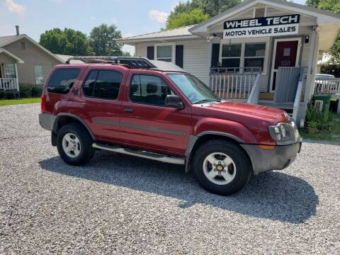 2004 Nissan Xterra for sale at Wheel Tech Motor Vehicle Sales in Maylene AL