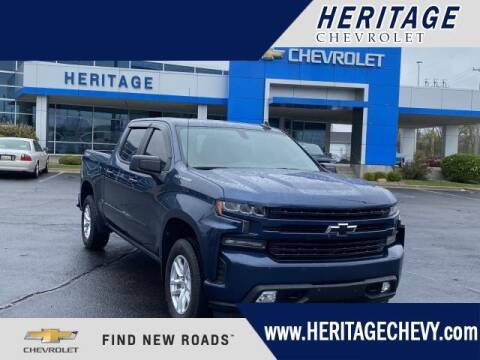 2019 Chevrolet Silverado 1500 for sale at HERITAGE CHEVROLET INC in Creek MI
