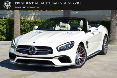 2019 Mercedes-Benz SL-Class for sale at Presidential Auto  Sales & Service in Delray Beach FL