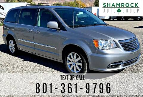2016 Chrysler Town and Country for sale at Shamrock Group LLC #1 in Pleasant Grove UT