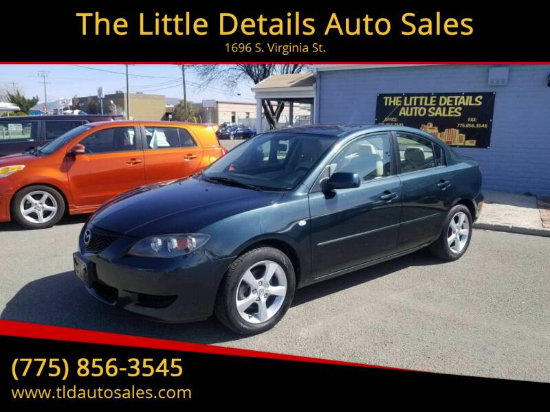 2006 Mazda MAZDA3 for sale at The Little Details Auto Sales in Reno NV