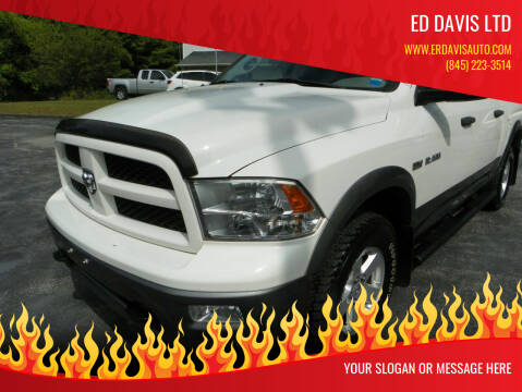 2009 Dodge Ram Pickup 1500 for sale at Ed Davis LTD in Poughquag NY
