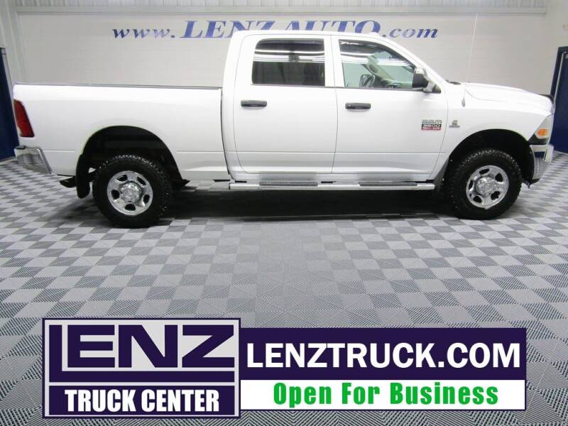 2011 RAM Ram Pickup 3500 for sale at LENZ TRUCK CENTER in Fond Du Lac WI