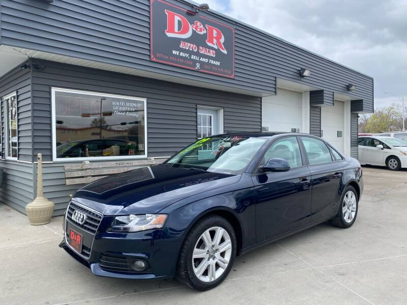 2009 Audi A4 for sale at D & R Auto Sales in South Sioux City NE