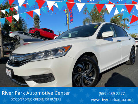 2016 Honda Accord for sale at River Park Automotive Center in Fresno CA