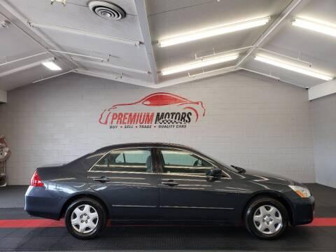 2006 Honda Accord for sale at Premium Motors in Villa Park IL