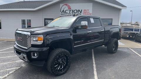 2015 GMC Sierra 2500HD for sale at Action Motor Sales in Gaylord MI