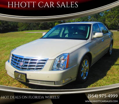 2011 Cadillac DTS for sale at HHOTT CAR SALES in Deerfield Beach FL