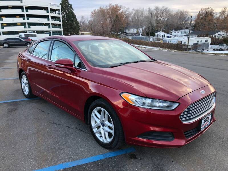 2014 Ford Fusion for sale at DRIVE N BUY AUTO SALES in Ogden UT
