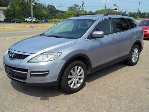 2008 Mazda CX-9 for sale at GLOBAL AUTOMOTIVE in Grayslake IL
