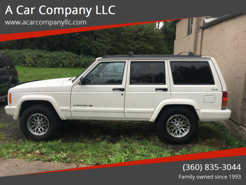 1998 Jeep Cherokee for sale at A Car Company LLC in Washougal WA