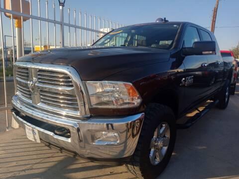 2014 RAM Ram Pickup 2500 for sale at Hugo Motors INC in El Paso TX