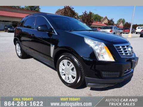2015 Cadillac SRX for sale at Auto Q Car and Truck Sales in Mauldin SC