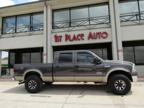 2006 Ford F-250 Super Duty for sale at First Place Auto Ctr Inc in Watauga TX