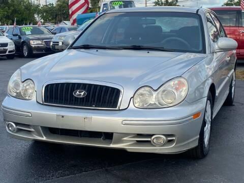 2005 Hyundai Sonata for sale at KD's Auto Sales in Pompano Beach FL