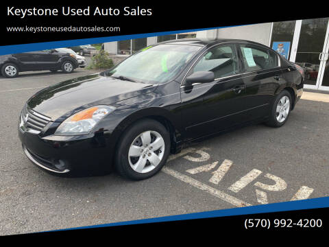 2008 Nissan Altima for sale at Keystone Used Auto Sales in Brodheadsville PA