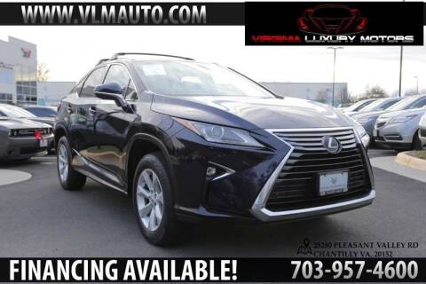 2016 Lexus RX 350 for sale at Used Imports Auto - Virginia Luxury Motors in Chantilly GA