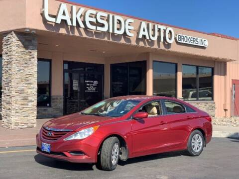 2012 Hyundai Sonata for sale at Lakeside Auto Brokers in Colorado Springs CO