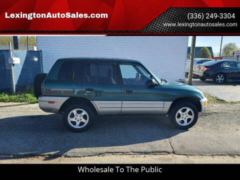 2000 Toyota RAV4 for sale at LexingtonAutoSales.com in Lexington NC