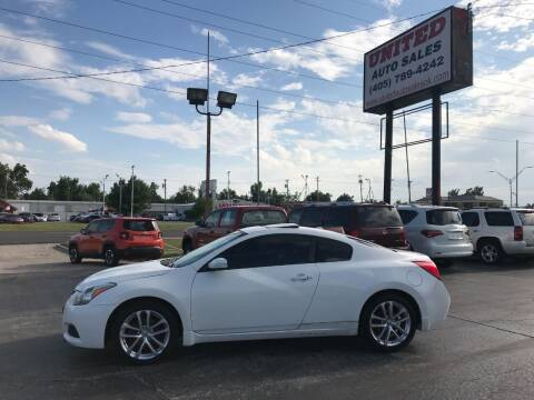 2010 Nissan Altima for sale at United Auto Sales in Oklahoma City OK