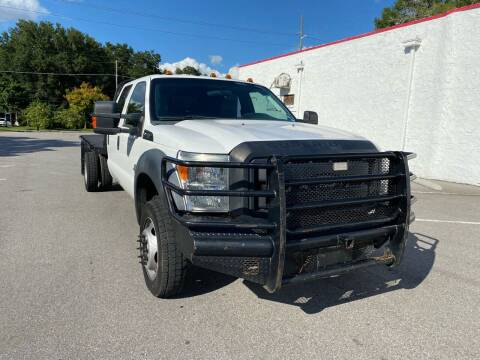 2012 Ford F-450 Super Duty for sale at LUXURY AUTO MALL in Tampa FL