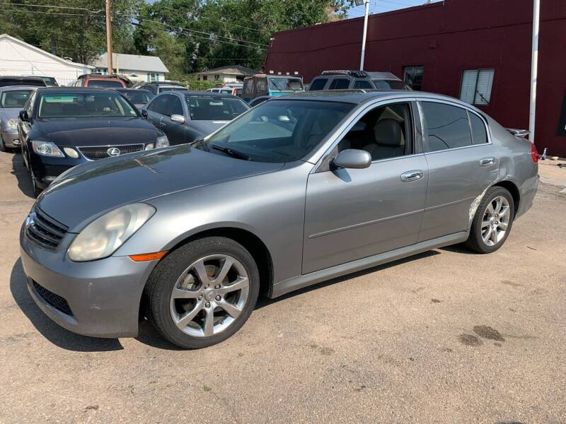 2005 Infiniti G35 for sale at B Quality Auto Check in Englewood CO