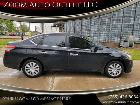 2013 Nissan Sentra for sale at Zoom Auto Outlet LLC in Thorntown IN