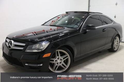 2013 Mercedes-Benz C-Class for sale at Fishers Imports in Fishers IN