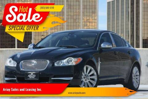 2009 Jaguar XF for sale at Ariay Sales and Leasing Inc. - Pre Owned Storage Lot in Glendale CO