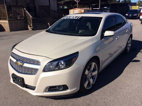 2013 Chevrolet Malibu for sale at OASIS PARK & SELL in Spring TX