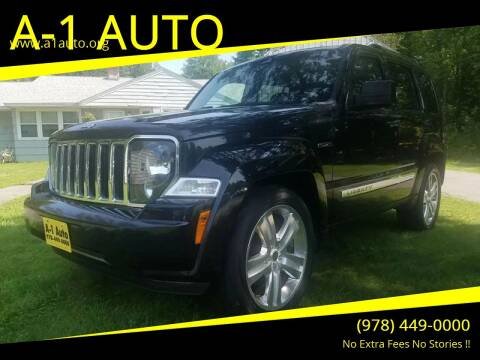 2012 Jeep Liberty for sale at A-1 Auto in Pepperell MA