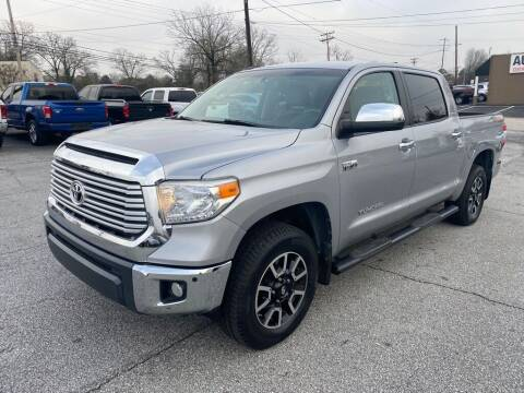2016 Toyota Tundra for sale at Brewster Used Cars in Anderson SC