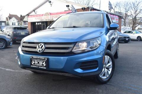 2017 Volkswagen Tiguan for sale at Foreign Auto Imports in Irvington NJ