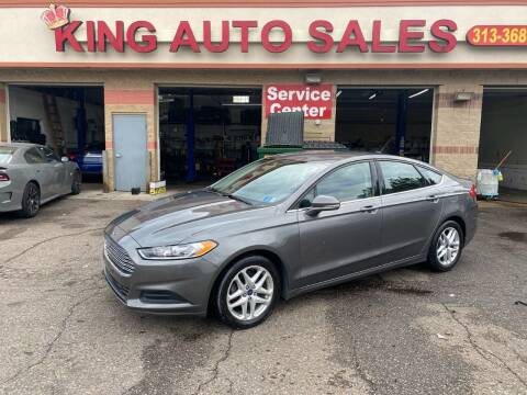 2014 Ford Fusion for sale at KING AUTO SALES  II in Detroit MI