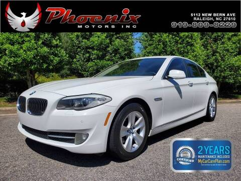 2011 BMW 5 Series for sale at Phoenix Motors Inc in Raleigh NC