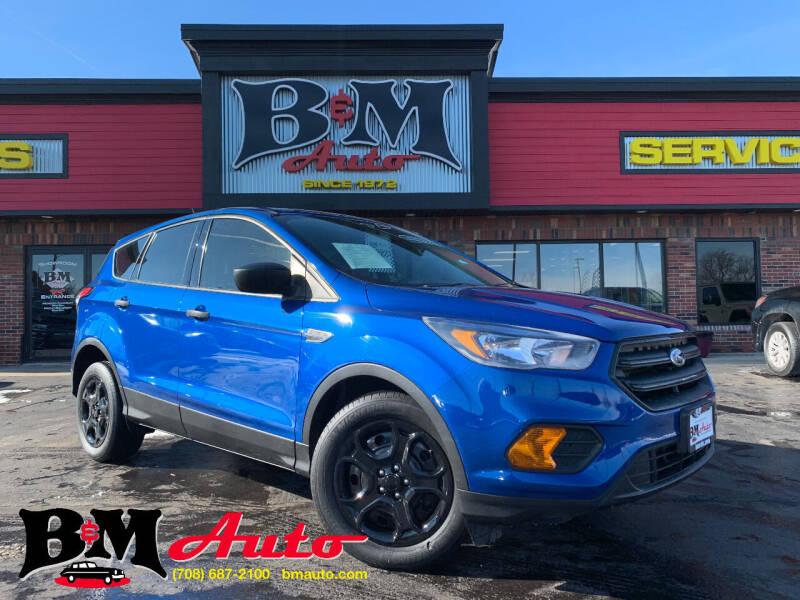 2018 Ford Escape for sale at B & M Auto Sales Inc. in Oak Forest IL