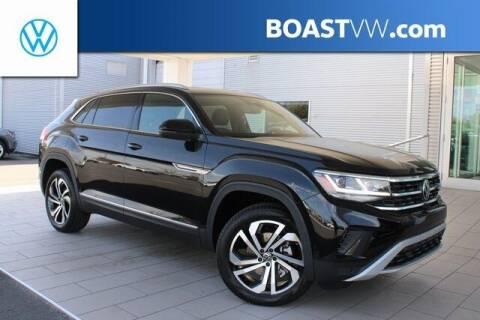 2021 Volkswagen Atlas Cross Sport for sale at BOAST MOTORCARS in Bradenton FL