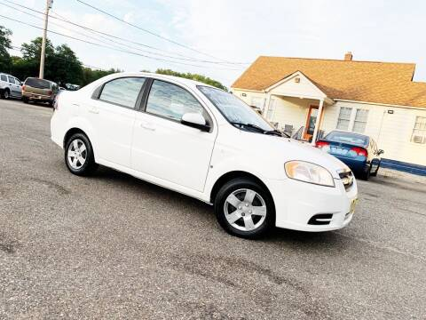 2008 Chevrolet Aveo for sale at New Wave Auto of Vineland in Vineland NJ
