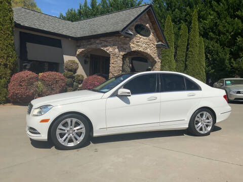 2013 Mercedes-Benz C-Class for sale at Hoyle Auto Sales in Taylorsville NC