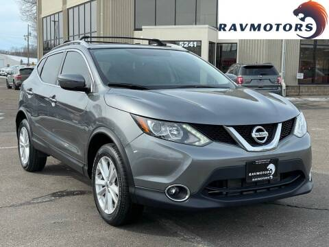 2018 Nissan Rogue Sport for sale at RAVMOTORS 2 in Crystal MN