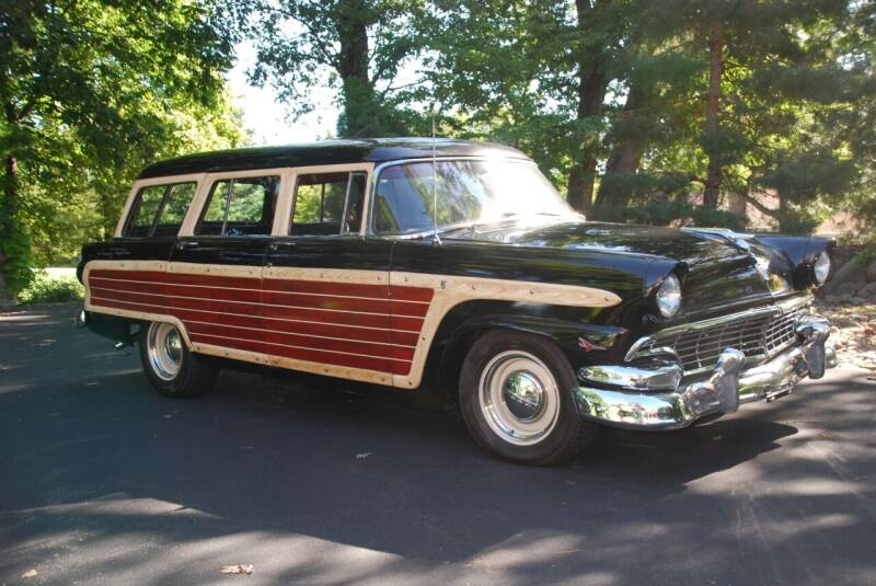 1955 Ford Country Squire for sale at Uftring Classic Cars in East Peoria IL