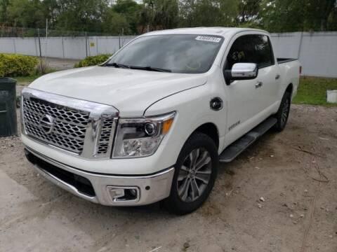 2017 Nissan Titan for sale at ELITE MOTOR CARS OF MIAMI in Miami FL