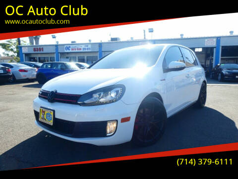 2013 Volkswagen GTI for sale at OC Auto Club in Midway City CA