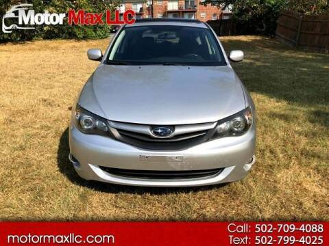 2010 Subaru Impreza for sale at Motor Max Llc in Louisville KY