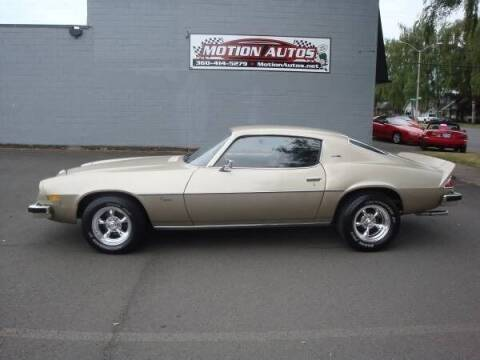1974 Chevrolet Camaro for sale at Motion Autos in Longview WA
