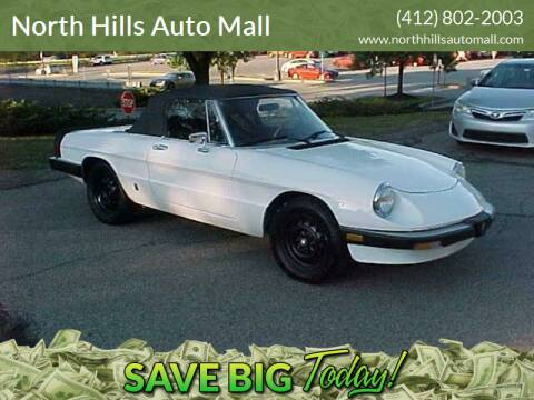 1985 Alfa Romeo Spider for sale at North Hills Auto Mall in Pittsburgh PA