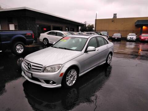 2009 Mercedes-Benz C-Class for sale at Nor Cal Auto Center in Anderson CA