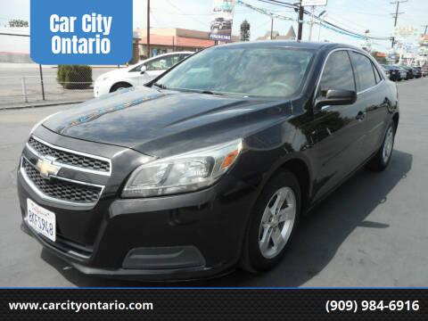 2013 Chevrolet Malibu for sale at Car City Ontario in Ontario CA