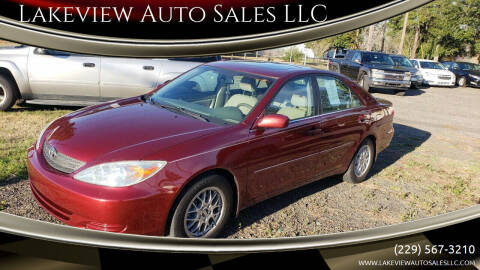 2002 Toyota Camry for sale at Lakeview Auto Sales LLC in Sycamore GA