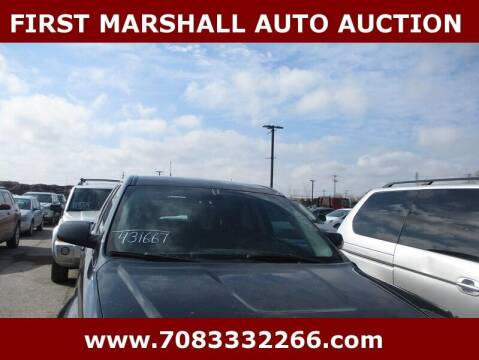 2011 GMC Terrain for sale at First Marshall Auto Auction in Harvey IL